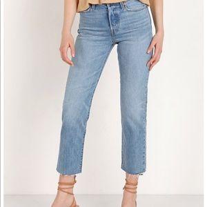 Wedgie Straight Leg Jean Levi's
